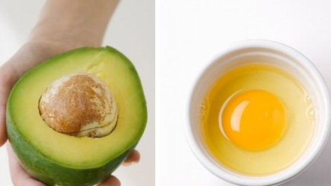 Easy-to-make egg masks for brighter skin